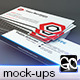 Photorealistic Business Card Mockup - GraphicRiver Item for Sale