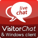 PHP Chat with Web- & Windows Clients - VisitorChat - CodeCanyon Item for Sale