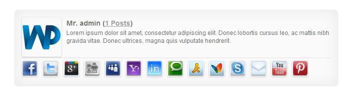 Social Avatar WordPress Plugin - 3
