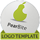 Pear Bite Logo - GraphicRiver Item for Sale