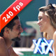 Couple At The Pool - VideoHive Item for Sale