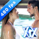 Couple Emerge From Water - VideoHive Item for Sale