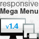 responsive Mega Menu - CodeCanyon Item for Sale