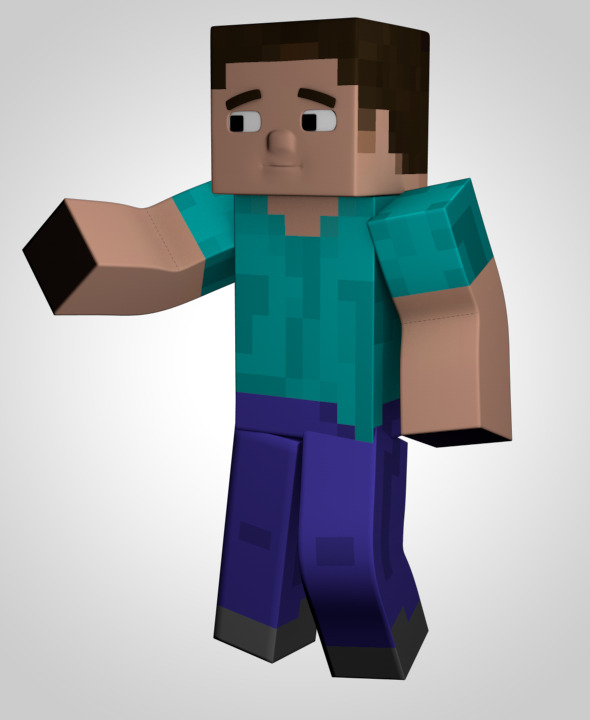 3DOcean Minecraft Character Model 5674906