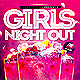 Girls Night Party Flyer  - GraphicRiver Item for Sale
