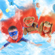 Little Superhero Kids Flying in the Sky - PhotoDune Item for Sale