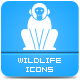 Wildlife Icons - GraphicRiver Item for Sale