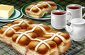 Pastries and Tea - PhotoDune Item for Sale