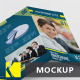 Tri-Fold Brochure Mockups Vol 02 - GraphicRiver Item for Sale