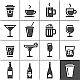 Drinks and Beverages Icons - GraphicRiver Item for Sale