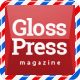 GlossPress Magazine / Blog - ThemeForest Item for Sale