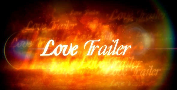 After Effects Project - VideoHive Love Trailer 588248