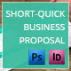 Short & Quick Business Proposal  - GraphicRiver Item for Sale