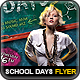 School Days Party Flyer - GraphicRiver Item for Sale