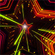 Star Neon Light Tunnel - VideoHive Item for Sale