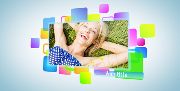 After Effects Project - VideoHive Color shape slideshow 589507