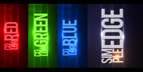 After Effects Project - VideoHive Simple Edge 508074