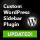 Custom WordPress Sidebar Plugin - CodeCanyon Item for Sale
