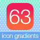63 Icon Gradients - GraphicRiver Item for Sale
