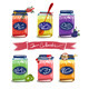 Bright Canned Sweet Fruit Jam Collection - GraphicRiver Item for Sale