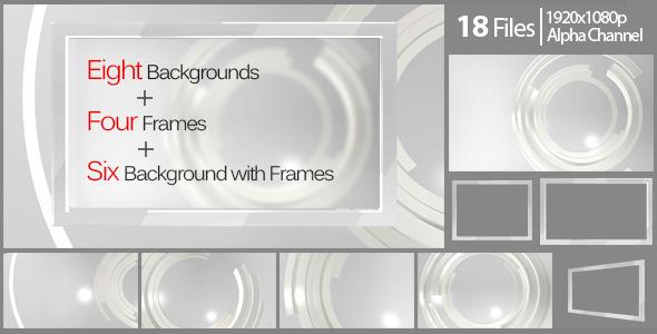 Elegant Background And Frame Pack