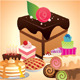 Set of Desserts  - GraphicRiver Item for Sale