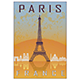 Paris Vintage Poster - GraphicRiver Item for Sale
