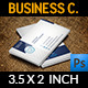 Corporate Business Card Vol.33 - GraphicRiver Item for Sale
