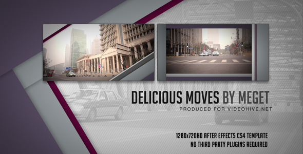 After Effects Project - VideoHive Delicious moves 593103