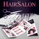 Hair Salon Trifold Brochure - GraphicRiver Item for Sale