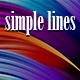 Simple Lines Backgrounds - GraphicRiver Item for Sale