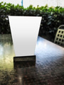 Blank table tent on cafe table - PhotoDune Item for Sale