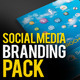 Social Cloud: Social Media ID Mega Branding Pack - GraphicRiver Item for Sale