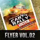 Premium Car Rally Flyer 2013  - GraphicRiver Item for Sale