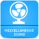 Miscellaneous Icons Pack - GraphicRiver Item for Sale