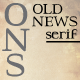 Old News Serif - GraphicRiver Item for Sale
