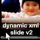 Dynamic xml slide with easing v2 - ActiveDen Item for Sale