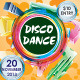 Disco Dance Party Flyer - GraphicRiver Item for Sale