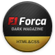 Forca - Responsive News/Magazine HTML Template - ThemeForest Item for Sale
