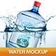 Big Bottle of Water Mockup - GraphicRiver Item for Sale