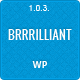 Brrrilliant - Wordpress Responsive HTML5 Template - ThemeForest Item for Sale