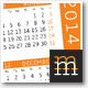 2013 Pocket Calendar - GraphicRiver Item for Sale