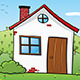 Rural House Illustration - GraphicRiver Item for Sale