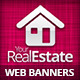 Real Estate Campaign Web Banners 4 - GraphicRiver Item for Sale