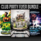 Club Party Flyer Bundle - GraphicRiver Item for Sale