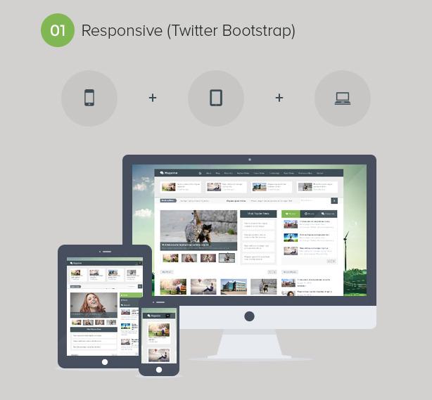 Magazine - Responsive Multi Purpose & Magazine WordPress Theme - 2