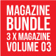 3 X Magazine Collection (Mgz Bundle Vol. 03) - GraphicRiver Item for Sale