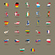 European Union Country Flags Set - GraphicRiver Item for Sale