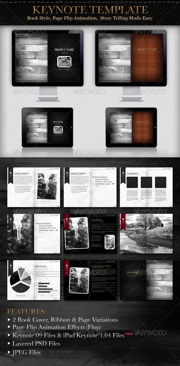 GraphicRiver Book Style Presentation 460265