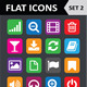 Universal Colorful Flat Icons. Set 2. - GraphicRiver Item for Sale